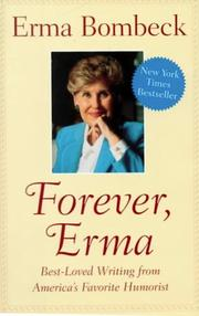 Cover of: Forever, Erma