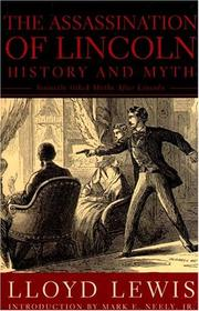 Cover of: The Assassination of Lincoln