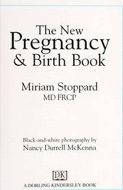 Cover of: The new pregnancy & birth book | Miriam Stoppard