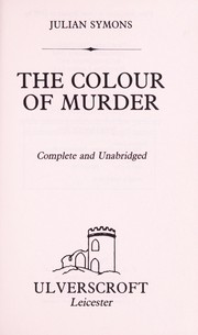 The colour of murder