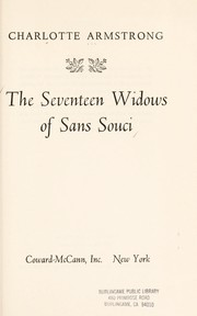 Cover of: The seventeen widows of Sans Souci