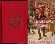 Cover of: A Christmas Carol | by Charles Dickens, with four Illustrations in Colour and four Woodcuts by John Leech