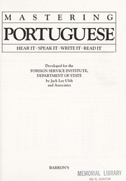 Cover of: Mastering Portuguese | Jack Lee Ulsh