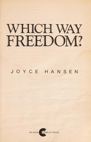 Cover of: Which Way Freedom