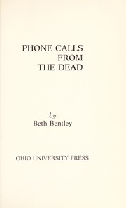 Cover of: Phone calls from the dead