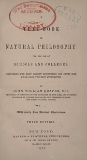 Cover of: A text-book on natural philosophy for the use of schools and colleges