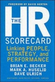Cover of: The HR scorecard by