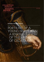 Cover of: Portrait of a young nobleman: a knight of the Order of Calatrava |