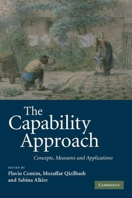 The capability approach: concepts, measures and applications by