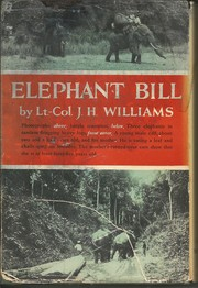 Cover of: Elephant Bill |