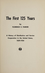 Cover of: The first 125 years