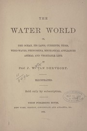 Cover of: The water world