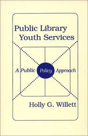 Cover of: Public library youth services