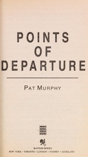 Cover of: Points of Departure