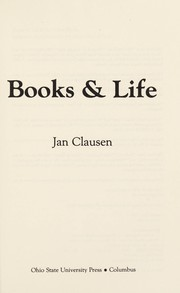 Cover of: Books & life | Jan Clausen