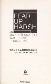 Cover of: Fear up harsh | Tony Lagouranis
