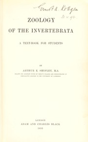 Cover of: Zoology of the invertebrata