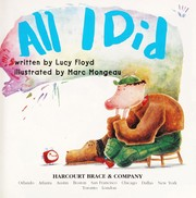 Cover of: All I did