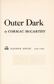 Cover of: Outer dark. | Cormac McCarthy
