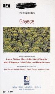 Cover of: The rough guide to Greece