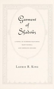 Cover of: Garment of shadows