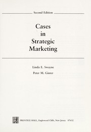 Cases in strategic marketing by