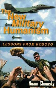 Cover of: The New Military Humanism: lessons from Kosovo
