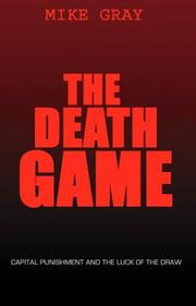 Cover of: The Death Game