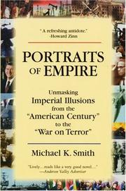 Cover of: Portraits of Empire | Michael K. Smith