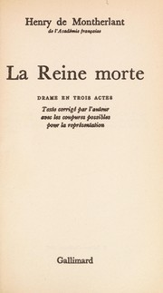 Cover of: La reine morte
