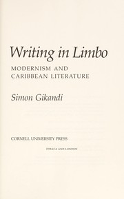 Cover of: Writing in limbo