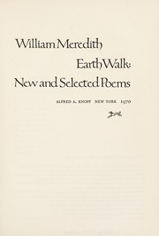 Cover of: Earth walk: new and selected poems
