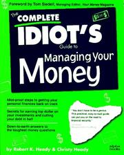 Cover of: The complete idiot