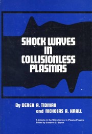 Cover of: Shock waves in collisionless plasmas