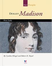 Cover of: Dolley Madison