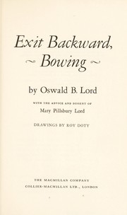 Cover of: Exit backward, bowing