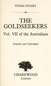 Cover of: The Goldseekers (Australians)