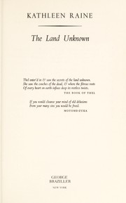 Cover of: The land unknown