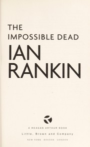 Cover of: The impossible dead | Ian Rankin