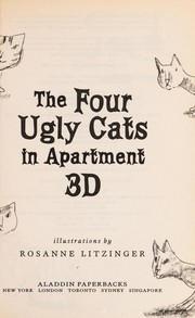Cover of: The four ugly cats in apartment 3D
