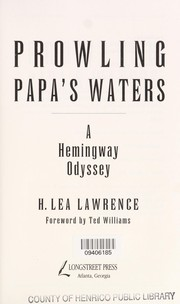 Cover of: Prowling Papa's waters