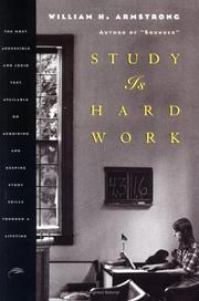 Cover of: Study is hard work