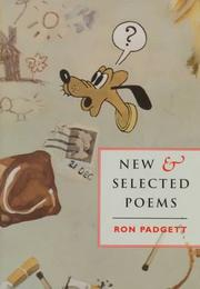 Cover of: New & selected poems