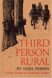 Cover of: Third person rural