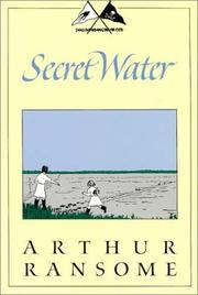 Secret water by John Arthur Ransome Marriott