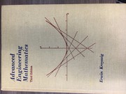 Cover of: Advanced engineering mathematics by Erwin Kreyszig