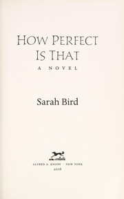 Cover of: How perfect is that