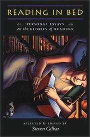 Cover of: Reading in Bed | Steven Gilbar