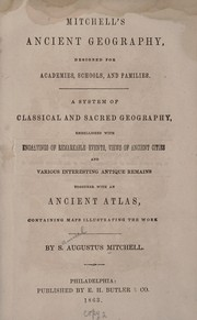 Cover of: Mitchell's ancient geography