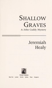 Cover of: Shallow graves: a John Cuddy mystery